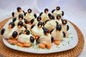 Pinguine auf dem Buffet