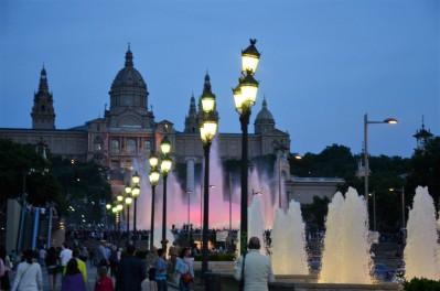 Palau Nacional und Font Màgica