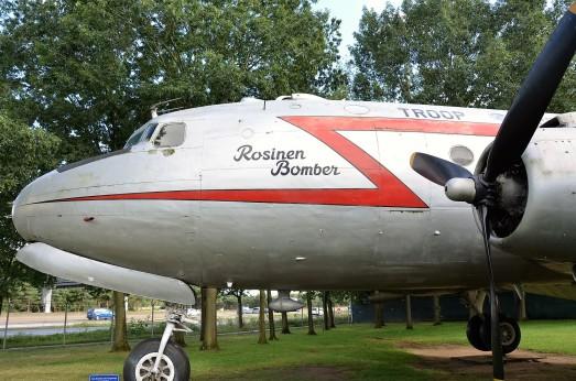 Rosinenbomber aus Kriegszeiten