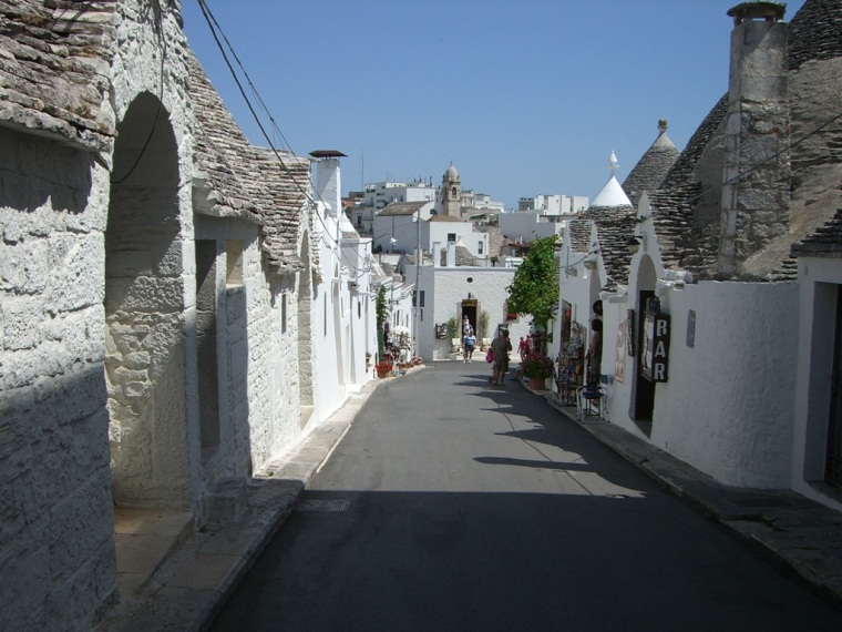Alberobello in Apulien